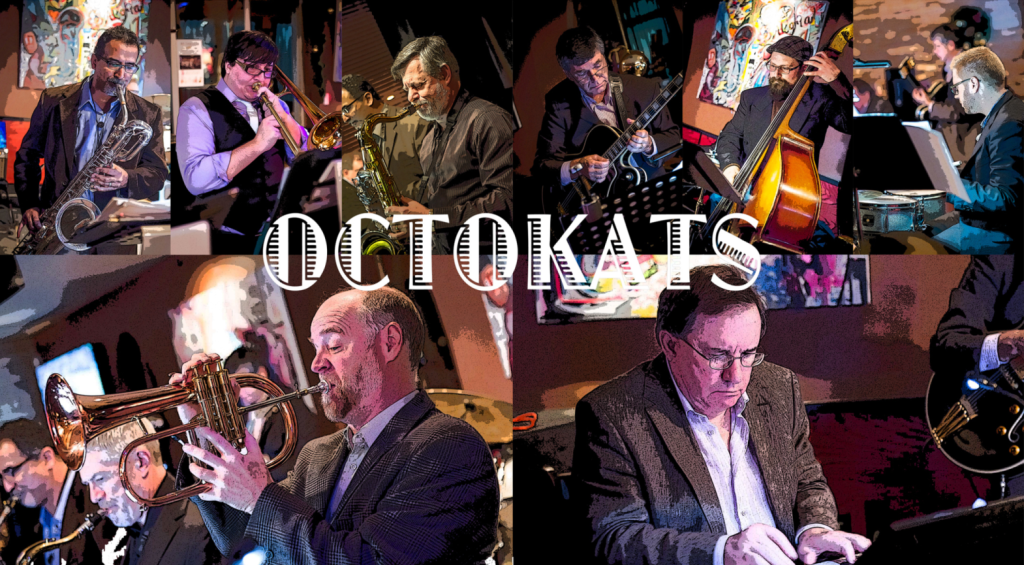 OCTOKATS West-Coast Jazz Octet (photo courtesy of OCTOKATS)